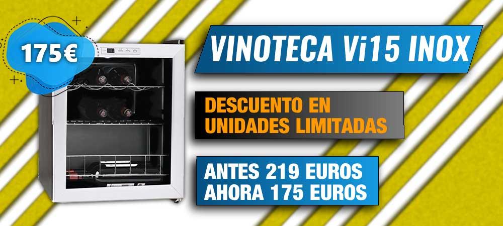 Vinoteca Vi15 Inox