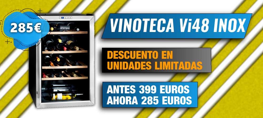 Vinoteca Vi48 Inox