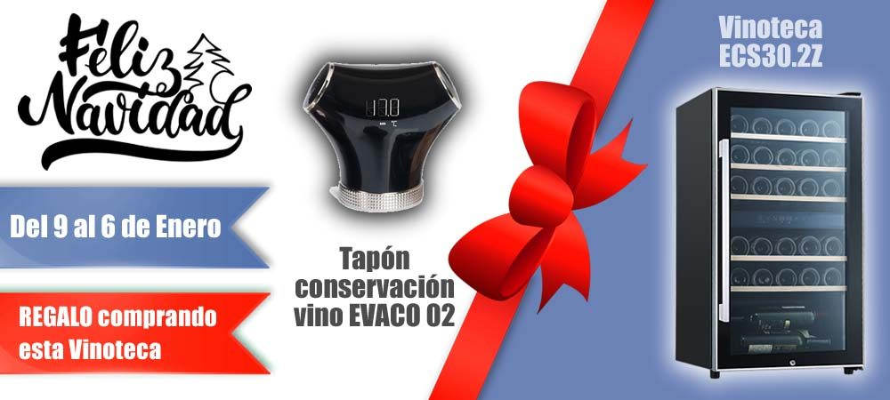 Black Friday Vinotecas Vitempus ECS302Z