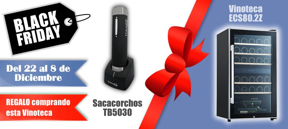Black Friday 2019 Vinoteca barata Vitempus ECS802Z