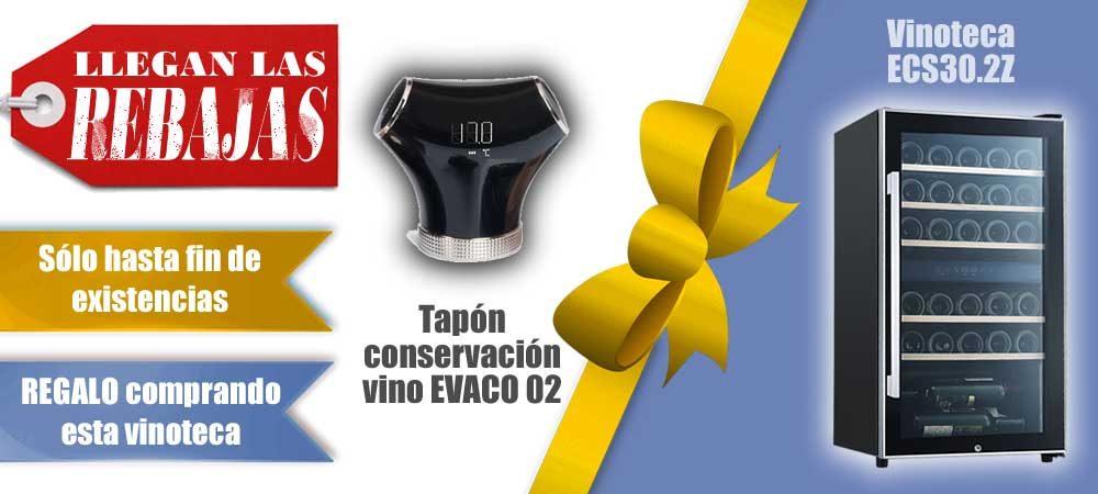Descuento Vinotecas Vitempus ECS302Z