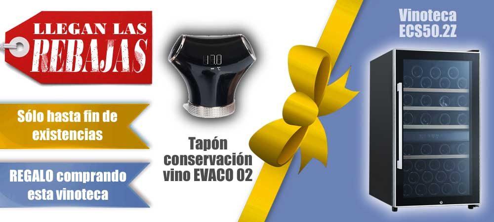 Vinotecas baratas Vitempus ECS502Z