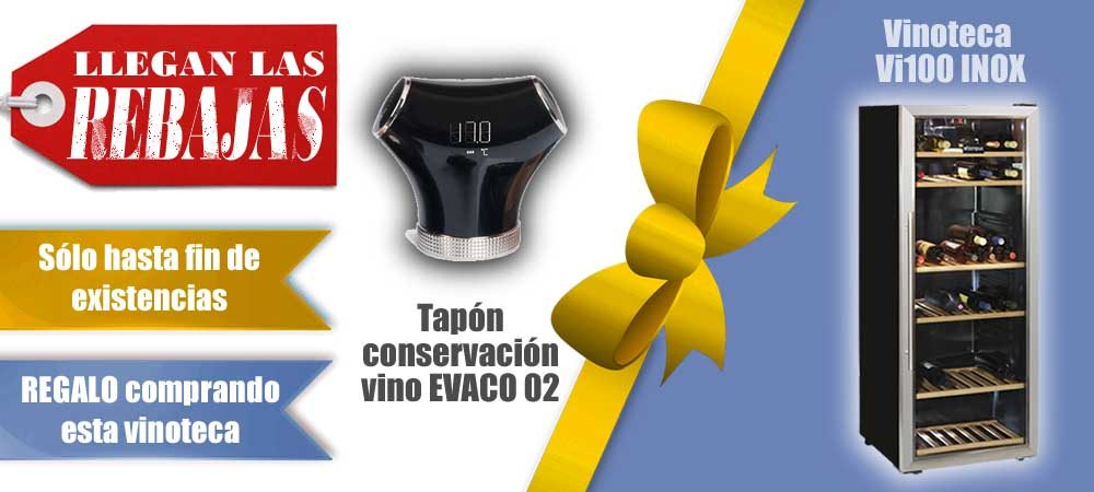 Rebajas Vinotecas Vitempus Vi100 INOX