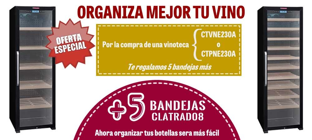 Regalo 5 bandejas CTVNE230A